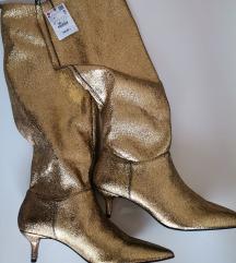 Zara zlatne čizme