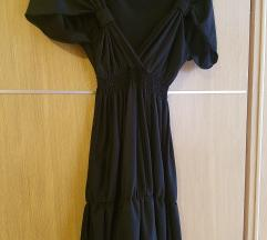 Hippy Garden mala crna haljinica