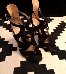 ZARA crne sandale