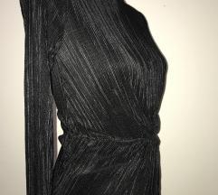 Mango crna uska haljina
