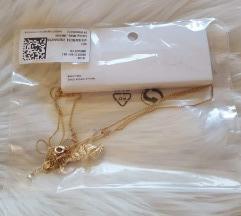 H&M novi dupli zlatni lančić