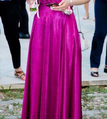 Ljubičasta svečana haljina