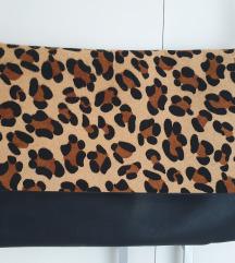 ZARA leopard torbica
