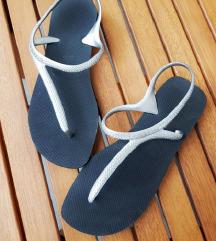 HAVAIANAS crne sandale / urban- japanke