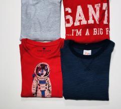 Lot majice 110-116
