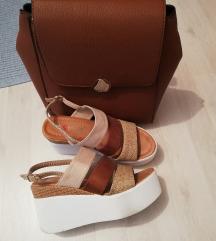 Lot Stradivarius ruksak i sandale