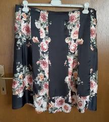 Nova, svilena suknja,  XXL