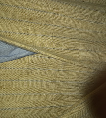 Laneni sako s pojasom
