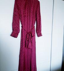 Zara maxi haljina fuksija