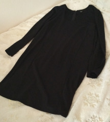 Crna zimska haljina