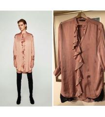Zara svijetlo roza haljina