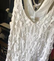 ABERCROMBIE and fitch čipkasta haljina SMALL