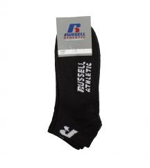 RUSSELL ATHLETIC nove crne čarape, stopalice
