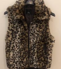 Prsluk leopard uzorak