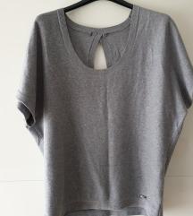 Siva topla bluza