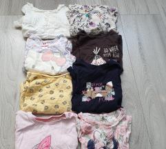 Lot majice za curice