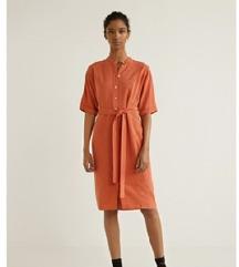Mango prugasta košulja-haljina sa etiketom XS