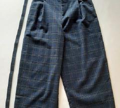 Pull&Bear culottes karirane hlače