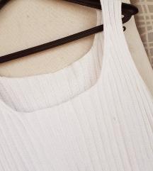 Bijela pamučna majica L