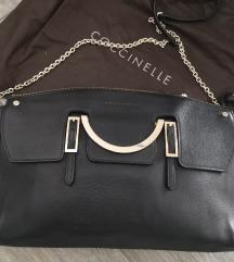 Coccinelle prekrasna crna kozna torba%%%