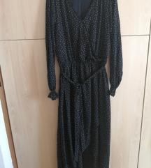 Duga haljina na točkice