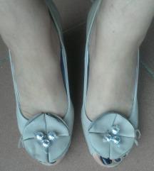 Talijanske kožne cipele/sandale puna peta