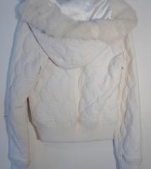 White Snow // Hoodie // Fur// S