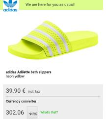 Adidas adilette neon 40.5