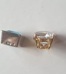 lot privjesak pozlata srebro 925