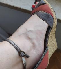 Sandale na platformu Terma