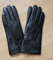 Podstavljene rukavice od prave kože