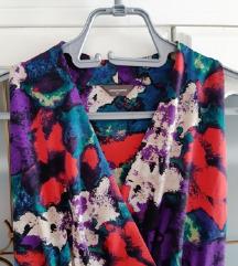 Vintage haljina, cvjetna, S/M, uklj.pt