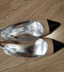 Zara slingback sandale 38