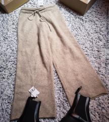 hlače knit coulette Zara S