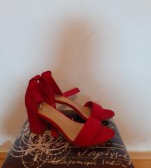 Crvene Sandale 39