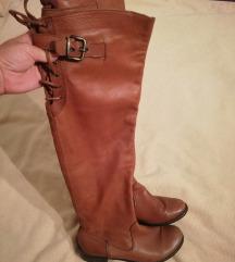 Visoke kozne cizme preko koljena