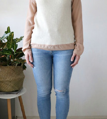 PATRIZIA PEPE svilena bluza
