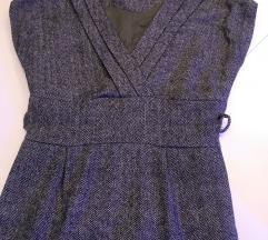 Zimska pencil poslovna haljina
