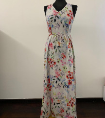 H&M cvjetna maxi haljina
