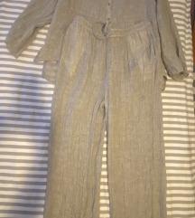 Zara laneno pidžama odijelo