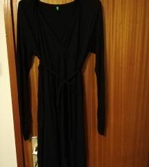 Benetton crna haljina