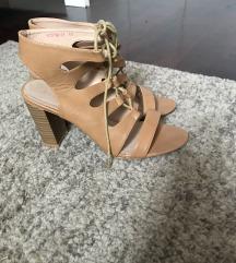 Borovo sandale na vezanje 41