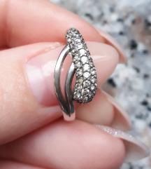 Prsten pravo srebro 925 Argentum