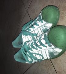 Adidas superstar tenisice,glow in dark