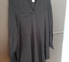 H&M crna košulja/tunika, vel 34