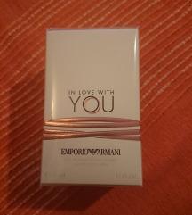 Sniženo! NOVI Armani - In love with you