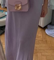 Zara satinirana suknja