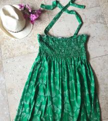 ORSAY zelena lagana haljinica, vel.S/M