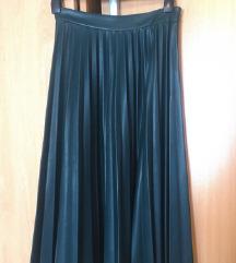 Zara midi plisirana suknja NOVA