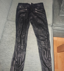 Kožne hlače H&M
